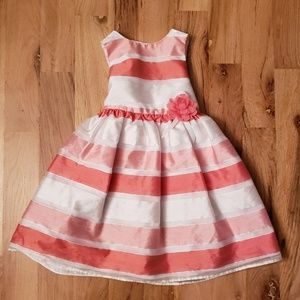 Holiday Editions Coral Organza Dress